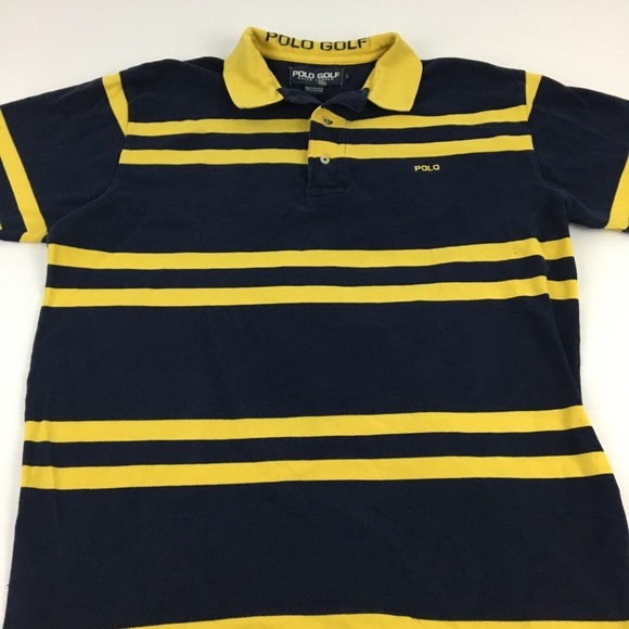 88b771637 Vintage Polo Golf Ralph Lauren 90s Striped Large. M 5b9b03573e0caa1461de7b65